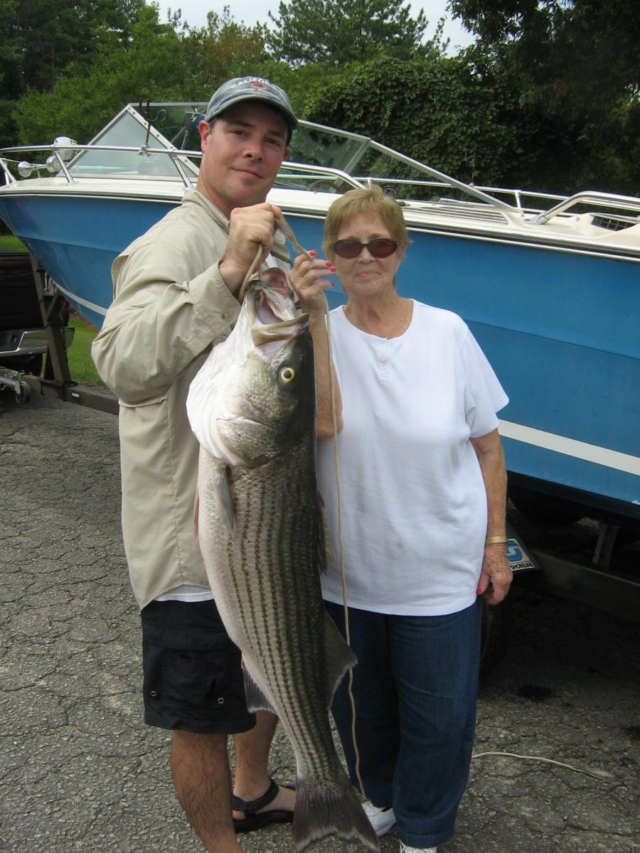 Moms striper - Lake Lanier