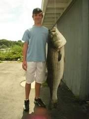 Ted Carroll - World Jr angler record